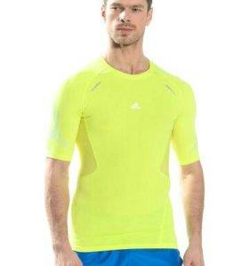 Компрессионная футболка Adidas. Новая
