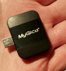 MyGiga PT360 DVB T2 USB тюнер для винды и андройда
