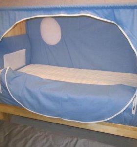 Новая детская кроватка Слипвел Кораблик