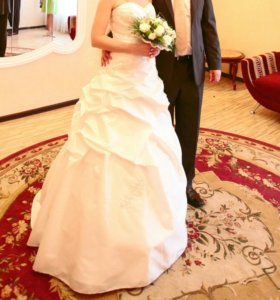 Роскошное свадебное платье. СРОЧНО!!! Торг