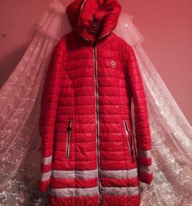 Осенний куртку