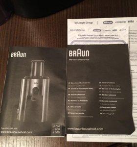 Соковыжималка Braun