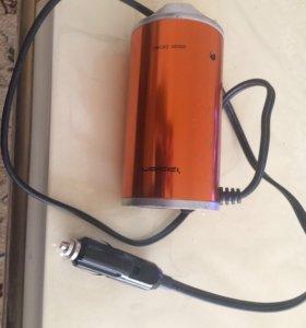 Адаптер с 12 вольт на 220 вольт