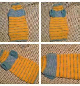 Теплый, мягкий свитер на кошечку (сфинкса)