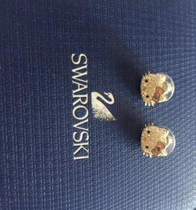 Swarovski серьги