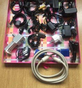 Зарядные устройства, переходники, наушники, кабели
