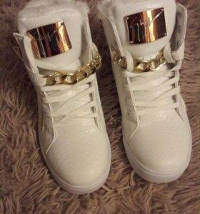 Кроссовки ботинки зимние