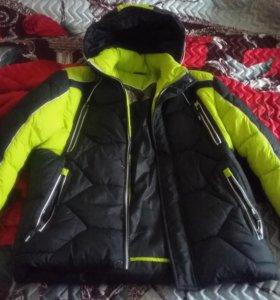 Куртка зимняя.дутик.