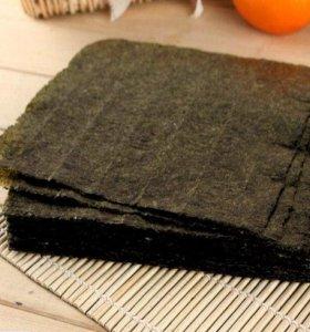Листы для суши (нори). Упаковка 100шт.