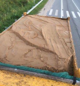Доставка песка по ДМИТРОВУ
