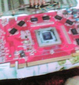 """Игровая видеокарта """"MSI"""" NVIDEA. 8-ядерная,1 гиг"""