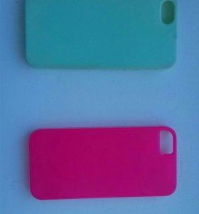 Чехлы на iPhone 5s. За 1шт 60р