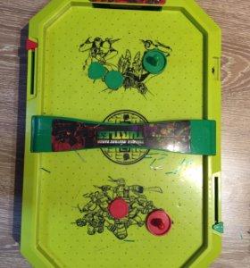 Набор детских игр черепашки ниндзя
