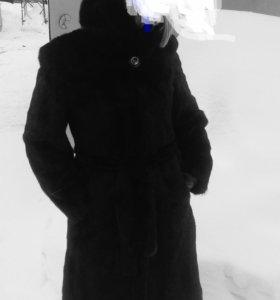 Шуба норковая 46р