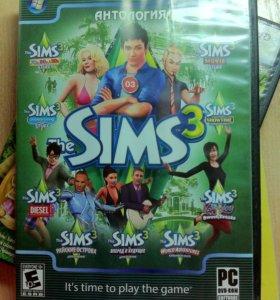 Sims 3 (несколько симсов на одном диске)