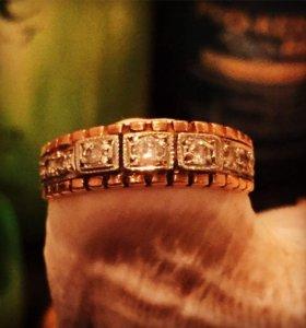 Кольцо мужское с бриллиантами