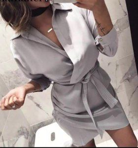 Новое Платье рубашка
