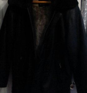 Куртка новая кожа размер 4хл