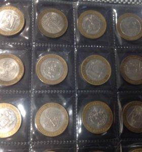 Юбилейные монеты 10 рублей (биметалл)