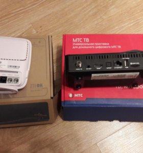 Wifi роутер,цифровое МТС ТВ нового поколения