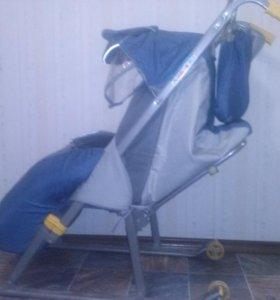 Санки-коляска Ника-2