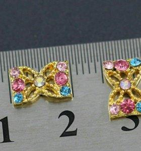 3D объёмные украшения для ногтей (2шт)