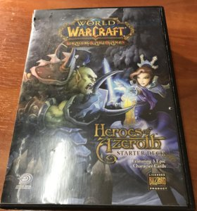 World of Warcraft TCG starter deck