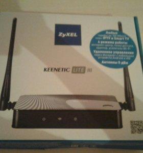 Wi-Fi  роутер.ZYXEL KEENETIC LITE 3