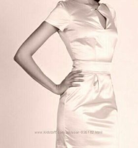 Новое атласное платье Love Republic, 42-44