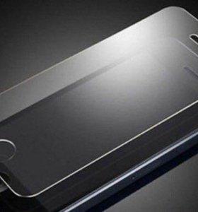 Защитное стекло переднее, заднее на iPhone
