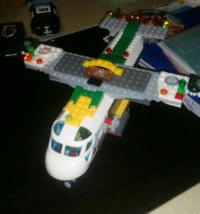 Самолет Lego 30см
