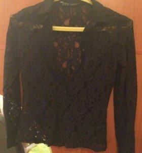 "Гипюровая рубашка ""Zara Basic"""