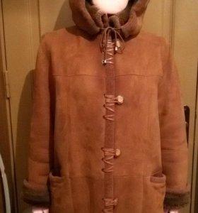 Куртка зимняя замшевая из овчины