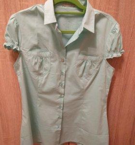 Рубашка с короткими рукавами 48 размер
