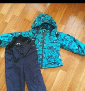 Осенняя куртка и штаны lassie 92 р.