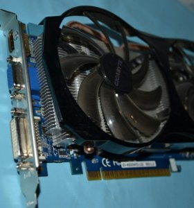 видеокарта Gigabyte GeForce GTX 550 Ti