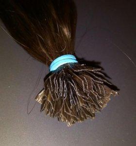 Волосы на кератине 48см