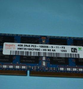 модуль памяти Hynix 4GB DDRIII 10600S