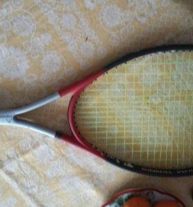 Ракетка для большого тениса, подростковая