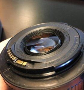обьектив canon EF 50mm, f/1,8 ll
