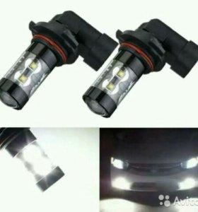 Светодиодные лампы HB4, H8, H9, H11 60 Вт 6000 K