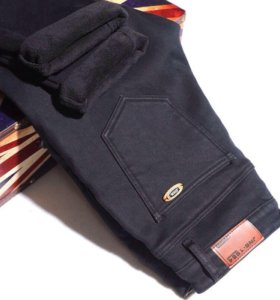 Мужские джинсы на флисе в упаковке