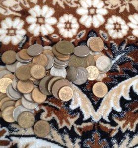 Старые монеты, 90х Годов