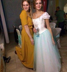 Свадебная юбка из Фатина