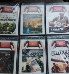 Продам новые диски на PSP