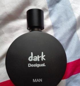 Духи, туалетная вода мужская Desigual dark