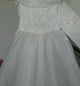 праздничное платье для девочки 10- 11 лет