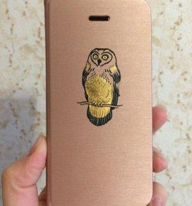 Чехол-книжка на iPhone 5s
