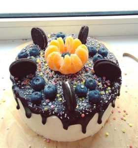 Торты и пирожные по поводу и без ;)