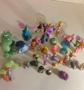 Игрушки маленькие фигурки
